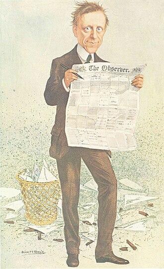 James Louis Garvin - ?-!, Vanity Fair, 1911