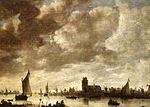 Jan van Goyen - View of the Merwede before Dordrecht - WGA10189.jpg