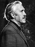 Черно-белое рекламное фото Джейсона Робардса в 1975 году.