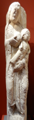 Statue-colonne : le Jeûne de saint Nicolas