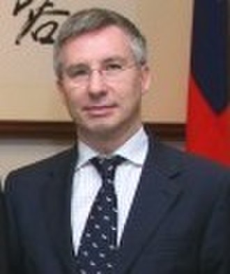 French Office in Taipei - Image: Jean Claude Poimboeuf (cropped from 總統接見法國國民議會友台小組訪問團一行)