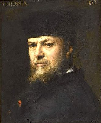 Jean-Jacques Henner - Self-portrait, 1877