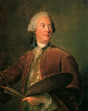 Louis Tocqué - Portrait of Louis Tocqué by Jean-Marc Nattier