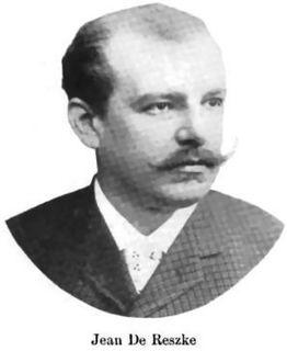 Jean de Reszke Polish singer