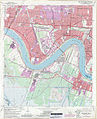 Jefferson Parish Louisiana Riverfront New Orleans Map 1979.jpg