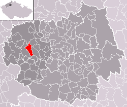 Location of Jenčice