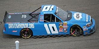Jennifer Jo Cobb - Cobb's 2013 truck at Rockingham Speedway
