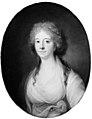 Jens Juel - Elisabeth (Lisa) de la Calmette, f. baronesse Iselin, Antoine de la Calmettes hustru - KMS1098 - Statens Museum for Kunst.jpg