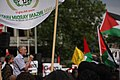 Jeremy Corbyn addressing Rage Against Israel demonstration in London.jpg