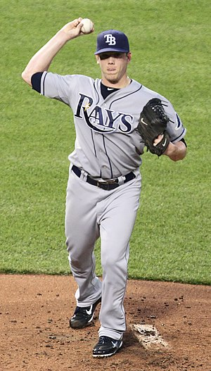 Jeremy Hellickson - Hellickson pitching for the Tampa Bay Rays in 2011
