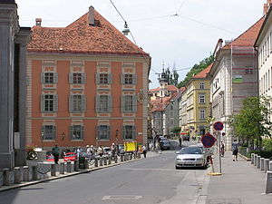 Innere Stadt (Graz) - Alte Universität and the Hofgasse