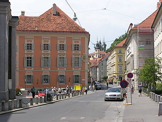 Innere Stadt (Graz) - Alte Universität and the Hofgasse