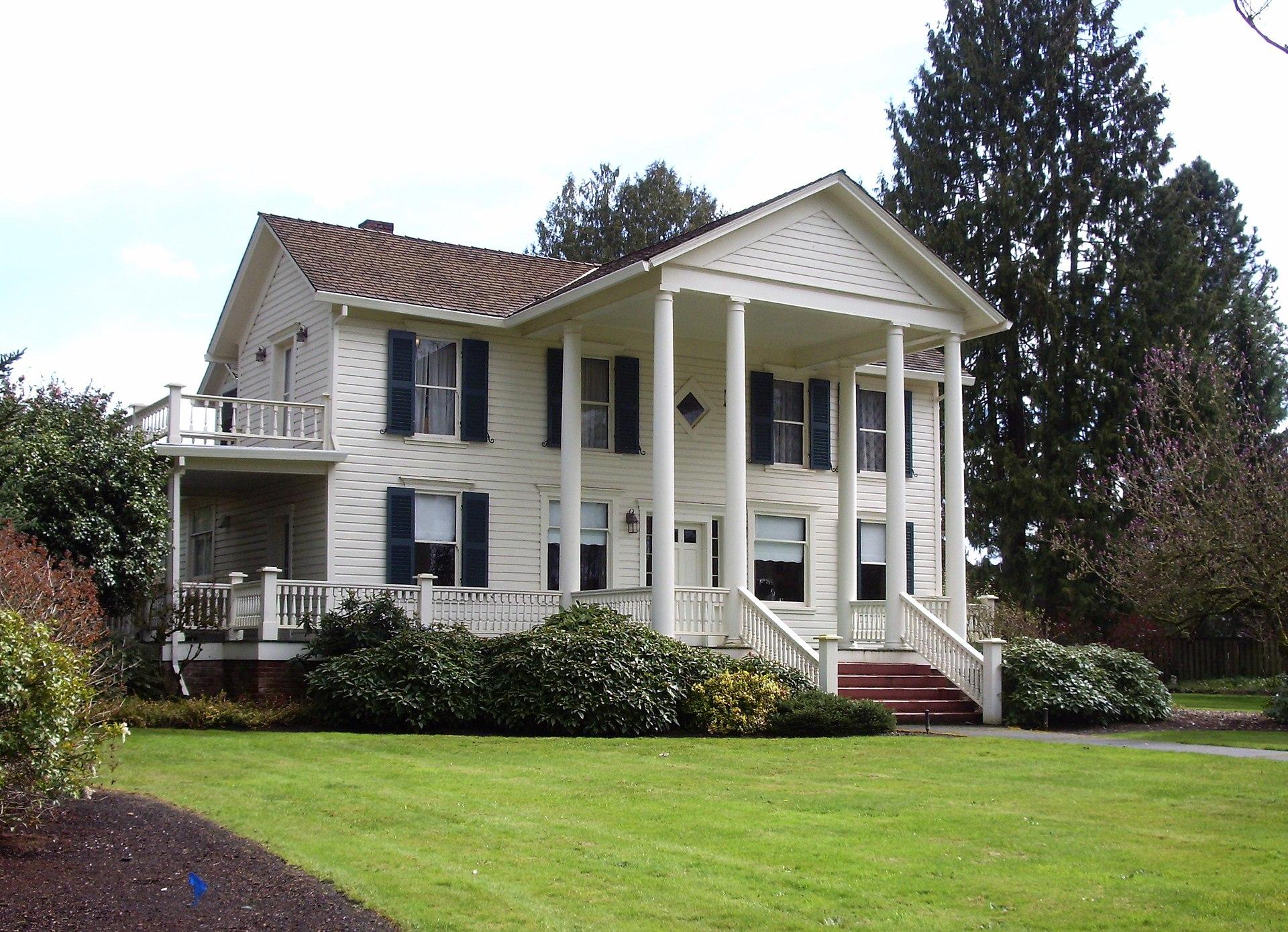 Dayton oregon wikipedia for Building a home in oregon
