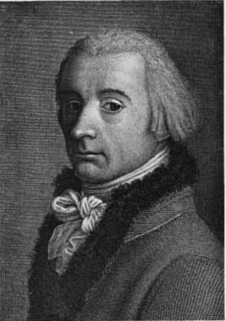 Johann Heinrich Lips - Self-portrait (date unknown)