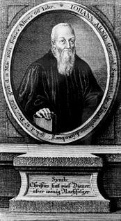 Johann Arndt German Lutheran theologian