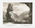 Johann Jakob Meyer - La Valle dell'Adda all'uscita della galleria dei Bagni di Bormio - 1831.png