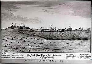 English: Fort Lawrence - Nova Scotia by John H...
