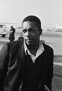John Coltrane American jazz saxophonist