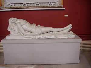 The Dead Christ - Image: John Hogan Dead Christ Crawford Municipal Art Gallery Cork