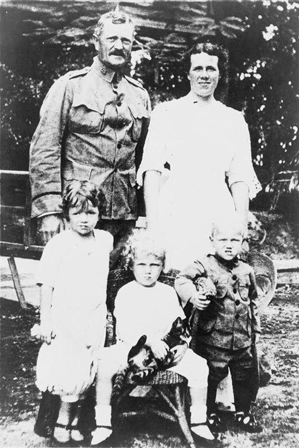 John J. Pershing and family