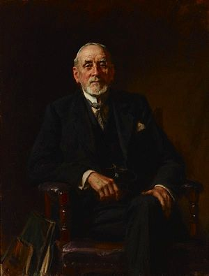 John Sulman - Portrait of John Sulman by John Longstaff, 1931