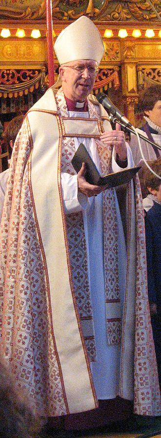 John Pritchard (bishop) - Pritchard at the 2007 St Giles' Fair, Oxford