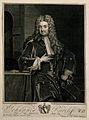 John Radcliffe. Line engraving by G. Vertue, 1719, after Sir Wellcome V0004862.jpg