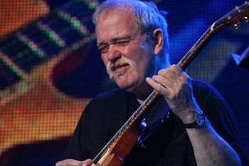 English: John Abercrombie playing at Bratislav...