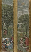 John the Baptist preaching and the Baptism of Jesus.jpg