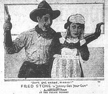 Johnny Get Your Gun - newspaper publicity photo - 1919.jpg