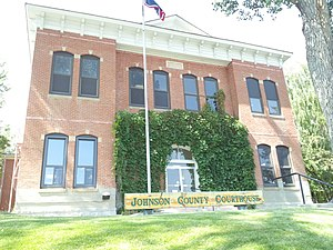 Johnson County, Wyoming - Image: Johnson County Courthouse Wyoming