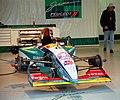 Jordan 195 - 1995 British GP pit garage.jpg