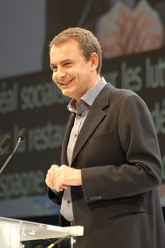 Constitutional patriotism - José Luis Rodríguez Zapatero, who advocated for constitutional patriotism in his election bids.