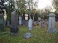 Judiska begravningsplatsen i Norrköping den 6 oktober 2005, bild 2..JPG