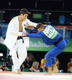 Judo at the 2016 Summer Olympics, Orujov vs Ungvari 8.jpg