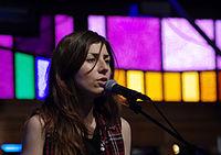 Julia Holter und Band (Haldern Pop 2013) IMGP2413 smial wp.jpg