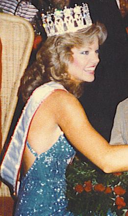 Julie Hayek Miss USA 1983