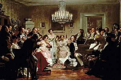 Le «Schubertiadi» durante le quali venivano interpretati i lieder
