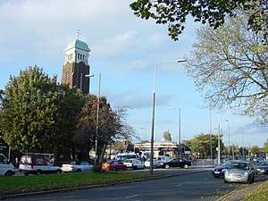 Clubmoor - Image: Junction of Queens Drive and Townsend Lane geograph.org.uk 72936
