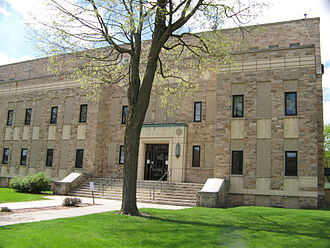 Juneau County, Wisconsin - Image: Juneau County Courthouse
