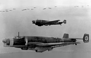 Junkers Ju 86 bombers in flight 1937.jpg