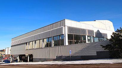 Vägbeskrivningar till Jyväskylän Kaupunginteatteri med kollektivtrafik