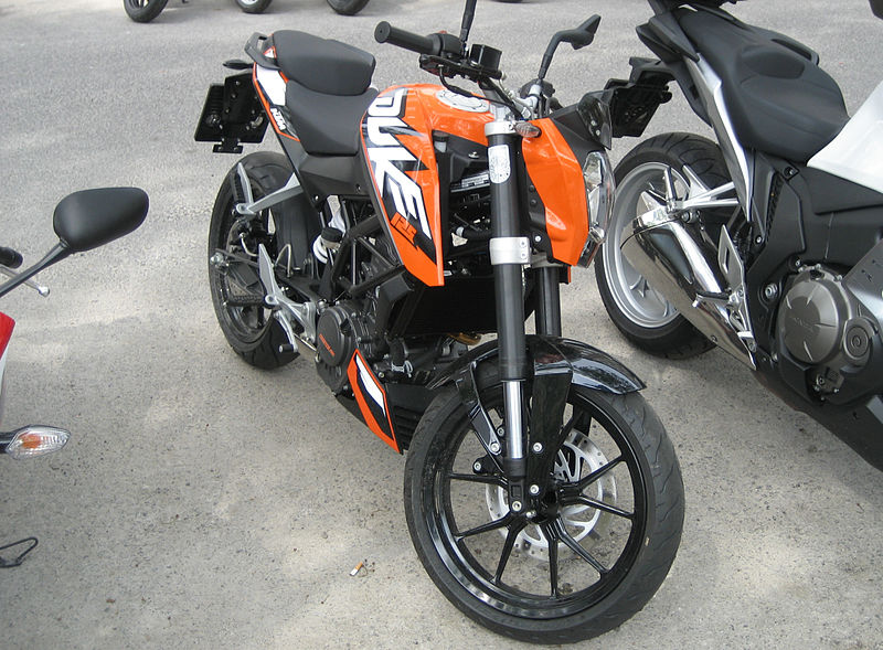 Ktm Duke Modified Headlights