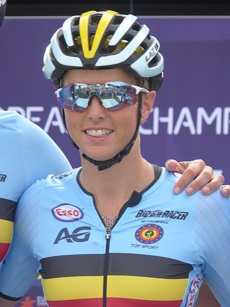 Kaat Hannes - 2018 UEC European Road Cycling Championships (Women's road race).jpg
