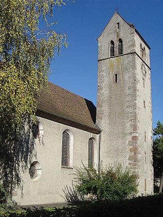Kaiseraugst - Gallus Church, Christian Catholic Church in Kaiseraugst