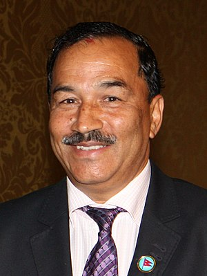Rastriya Prajatantra Party - Kamal Thapa: current chairman of the party
