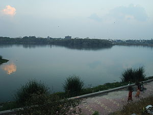 Solapur - Kambar Talav (lake), also known as Sambhaji Talav (lake)