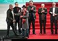 Kamboziya Partovi and Saeed Agakhani in 36th Fajr International Film Festival 2.jpg