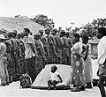 Kamp van Angolese Bevrijdingsbeweging FNLA in Zaire, zojuist aangekomen vluchtel, Bestanddeelnr 926-6266.jpg