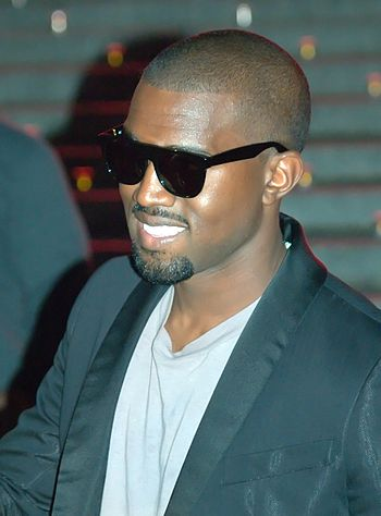 English: Kanye West at the Vanity Fair kickoff...